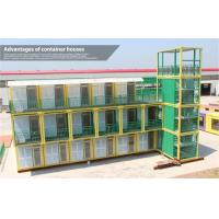 Wholesale Luxury Colorful Prefab Shipping Container Homes 40 Foot for Holiday Village from china suppliers