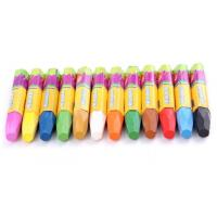 Wholesale 12 PCS 88x8mm oil pastel wax crayon/ 12 PCS Eco-friendly colorful 8oil pastel wax crayon from china suppliers