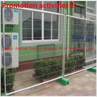 Wholesale welded wire mesh canada temporary fence from china suppliers