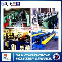 Wholesale Steel Stud Roll Forming Machine Guiding Column Structure , Arch Sheet Roll Forming Machine from china suppliers