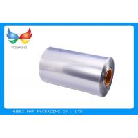 Buy cheap 40 MIC Transparent Blown PVC Shrink Film For Shrink Sleeve Label from wholesalers