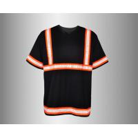 Quality OEM/ODM/Private Label Short Sleeve Hi Vis Shirt, 3M Tape, High Visibility for sale