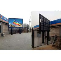 Wholesale Commercial P10 Outdoor Full Color LED Display With Iron / Aluminum Cabinet from china suppliers