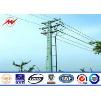 Wholesale Electrical Tubular Steel Pole Self Supporting Metal Utility Poles For Transmission Line from china suppliers