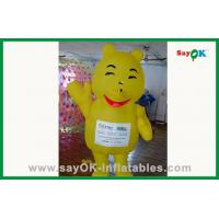 Wholesale Customized Inflatable Cartoon Characters Yellow Inflatable Bear For Water Park from china suppliers