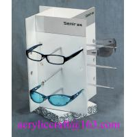 China Rotary Acrylic Display Stand For Sunglasses / Glasses Retail Store on sale