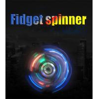 Wholesale Crystal Fidget Spinner with Flashing LED Lights GK-FS01 from china suppliers