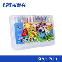 Wholesale 110Mm Oil Short Twisters Crayons For Toddlers Painting Tools 24 Colors from china suppliers