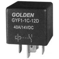 Wholesale General Purpose 5 Pin Automotive Relay 12V GYF HFV4 40A / 80A from china suppliers
