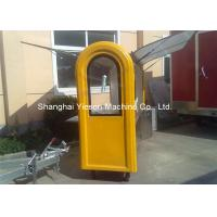Wholesale Customized Stainless Steel Hot Dog Cart Moving Towable Snack Fast Food Kiosk from china suppliers