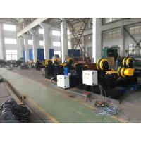 Quality Black Painting Tank Turning Rollers With 80 Ton Capacity , Coated With PU Wheels for sale