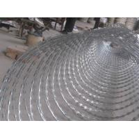 Wholesale High Security Coiled Razor Wire Fencing For Border Posts / Detention Houses from china suppliers