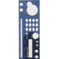 Wholesale Concave-Convex Tactile Silicone Keypad Membrane Switch Overlay Graphics from china suppliers