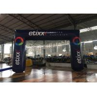 Wholesale Black Outdoor 6m X 4m  Durable Inflatable Banners Arches For Events Or Promotion from china suppliers