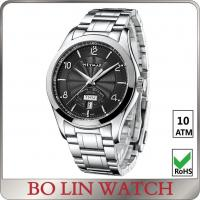 Wholesale Luxury Stainless Steel Bracelet Style Watches , Multifunction Fashion Wrist Watch from china suppliers