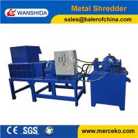 Quality CE Certificate Scrap Metal Shredder WANSHIDA for sale
