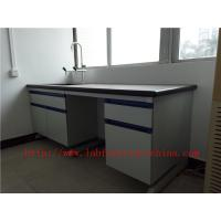 Buy cheap Resistant To  strongest Corrosion /  Acid / Alkali 3000 mm Blue  Science Computer Lab  Furniture  Designs  For  Laborato from wholesalers