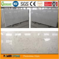 Quality Marble Look Quartz Stone for sale