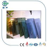 Wholesale Customized large Reflective Glass Sheet for shop display windows , Interior glass screens from china suppliers