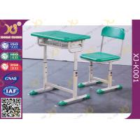Buy cheap Aluminium Frame Colorful Kid's Study Desk And Chair For Primary School from wholesalers