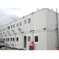 Wholesale 40 Ft Shipping Container Steel Structure Villa Office Double Storey In White from china suppliers