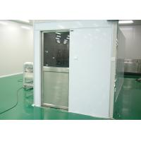 Wholesale Tunnel Type Air Shower Cleanroom Electric Interlocked For Semiconductor Industry from china suppliers