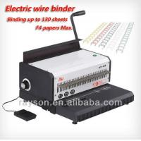 Wholesale Electric / Manual Punch Wire Binding Machines For Coil Binding High Efficiency from china suppliers