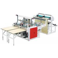 Wholesale Outside Patch Carry Bag Manufacturing Machine , Plastic Bag Maker Machine 220V / 380V from china suppliers