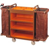 Wholesale Hotel Multifunction Housemaid Cart-Housemaid Trolley from china suppliers