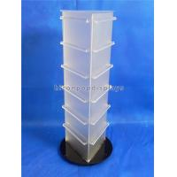 Wholesale 19'' Tall Countertop Spinner Rack Display Stand Custom Acrylic Triangular Display Stand from china suppliers