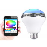 Wholesale 10pcs 5050 ABS LED Bluetooth speaker light bulb with APP control and color changing from china suppliers