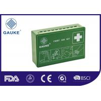 Wholesale Green ABS Box family first aid kit Germany Standard DIN 13164 Easy To Carry And Hang from china suppliers