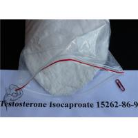 Wholesale Muscle Gain Testosterone Isocaproate White Crystalline Powder CAS 15262-86-9 from china suppliers