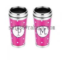Quality double wall travel mug for sale