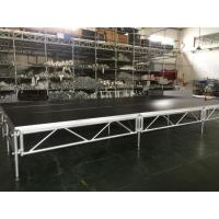 Wholesale 1 - 1.4m Indoor / Outdoor Assemble Aluminum Stage Platform 6082-T6 Material For Events from china suppliers