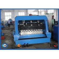 Wholesale 1.5-3.0mm Corrugated Steel  Granary Silo Roll Forming Machine Gcr15 roller Material from china suppliers