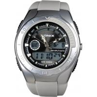 Wholesale Waterproof Mens Digital Analog Watches With Alarm 24 Hour PU Strap from china suppliers