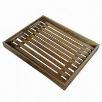 Wholesale Bamboo Serving Tray, Measures 40 x 29 x 3cm from china suppliers