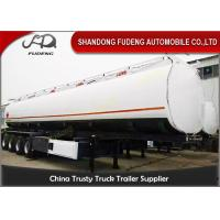 Wholesale 4 Axles 60000 Liters Fuel tanker semi trailers Mobile tankers for Oil transporting from china suppliers
