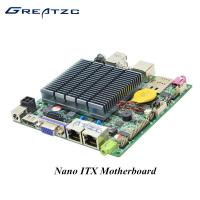 Wholesale DC 12V Quad Core Nano ITX Embedded Motherboard With MSATA MPCIE SIM Slot from china suppliers