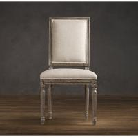Wholesale Square Back oak Fabric Dining Chair , upholstery fabric dining room chairs  from china suppliers
