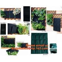 Wholesale Hanging Planter Horizontal Garden Grow Bag Vertical Garden Felt Bag from china suppliers