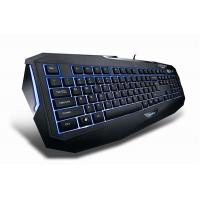 Buy cheap Green LED light up computer multimedia gaming keyboard for ipad game keyboard from wholesalers