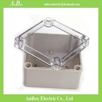 Wholesale 125*125*75mm ip66 electrical clear plastic case from china suppliers