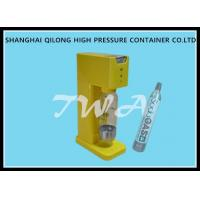 Wholesale Semi Automatic Soda Water Maker Filling Machine , Stable Pressure from china suppliers
