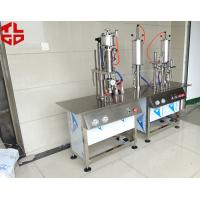 Wholesale Semi Automatic Aerosol Can Filling Machine For Anti Rust Spray / Mould Release Spray from china suppliers