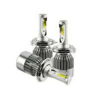 Wholesale Single Beam Motorcycle COB Led Headlight Bulbs 9005 36W 4000lm 8000K Aluminum Material from china suppliers