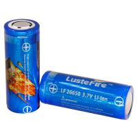 Wholesale Lustefire 26650 5000mAh 3.7V rechargeable lithium ion battery, flashlight li-ion charge batteries from china suppliers