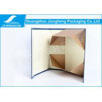 Wholesale Custom Flat Folding Packing Boxes Texture Paper Blue Bowknot For Gift from china suppliers