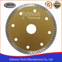 Wholesale Tile Cutting Tools 105mm Sintered Turbo Saw Blade for Ceramic / Tiles Hot Press from china suppliers